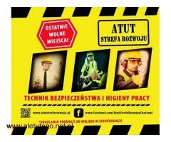 Bezpłatny kierunek Technik BHP w ATUT Strefa Rozwoju Chorzów !!