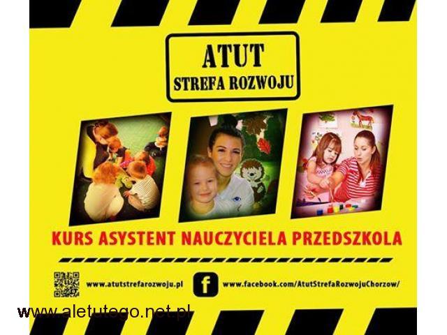 Kurs asystent nauczyciela przedszkola/ żłobka w ATUT Strefa Rozwoju Chorzów !