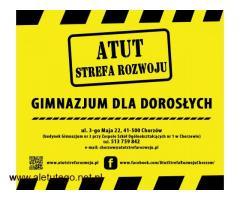 Szkoła Podstawowa oraz Gimnazjum dla Dorosłych w ATUT Strefa Rozwoju :)